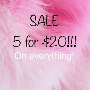 5 items for $20